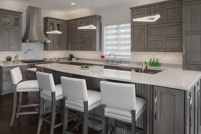 Contemporary Ocean View Kitchen